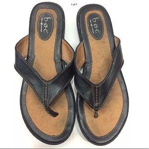 Thong flip flops 9 man made-Born Boc